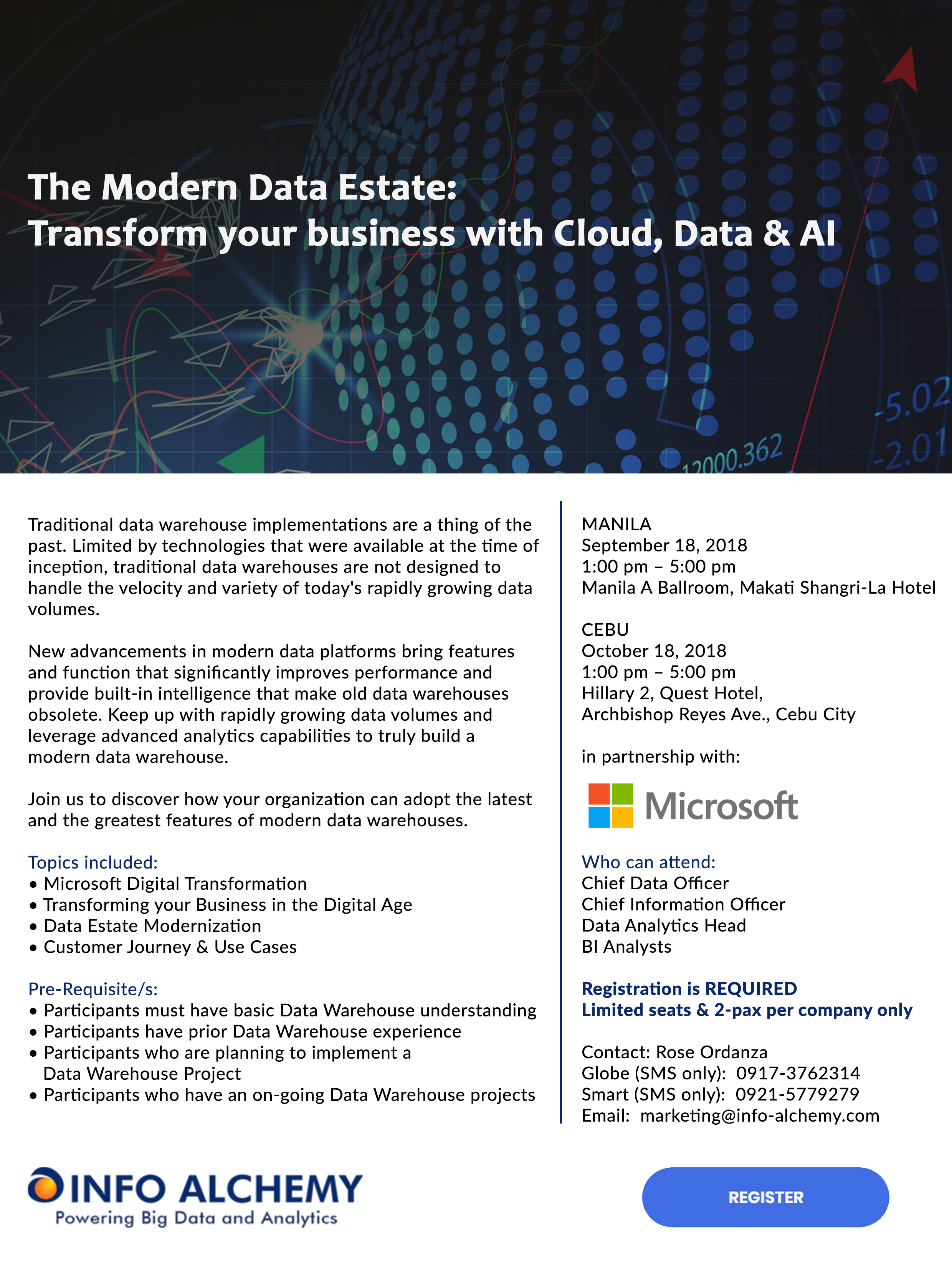 The Modern Data Estate: Transform your business with Cloud